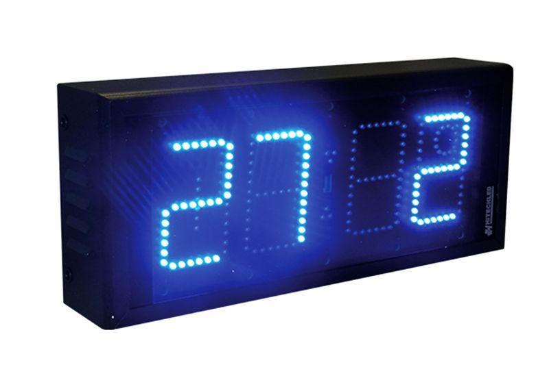 Afficheur date heure température